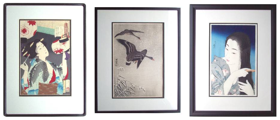 more framed examples remember black always looks good