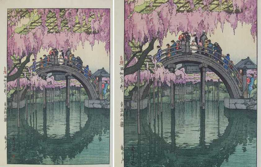 Famous japanese woodblock prints the for Famous prints for sale