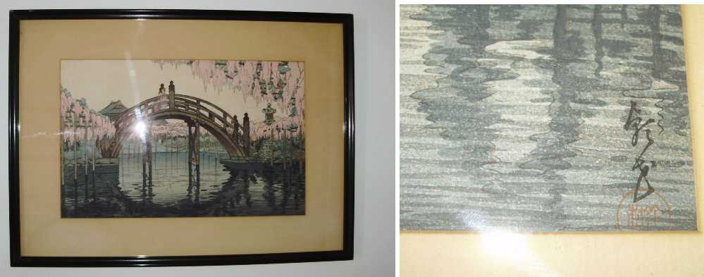 Woodblock Prints of Kameido Tenjin Shrine