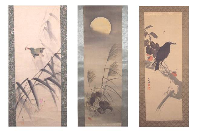 Ukiyo-e Gallery, Japanese Hanging Scrolls (